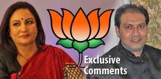 (L-R) Anila Singh, Mohsin Raza