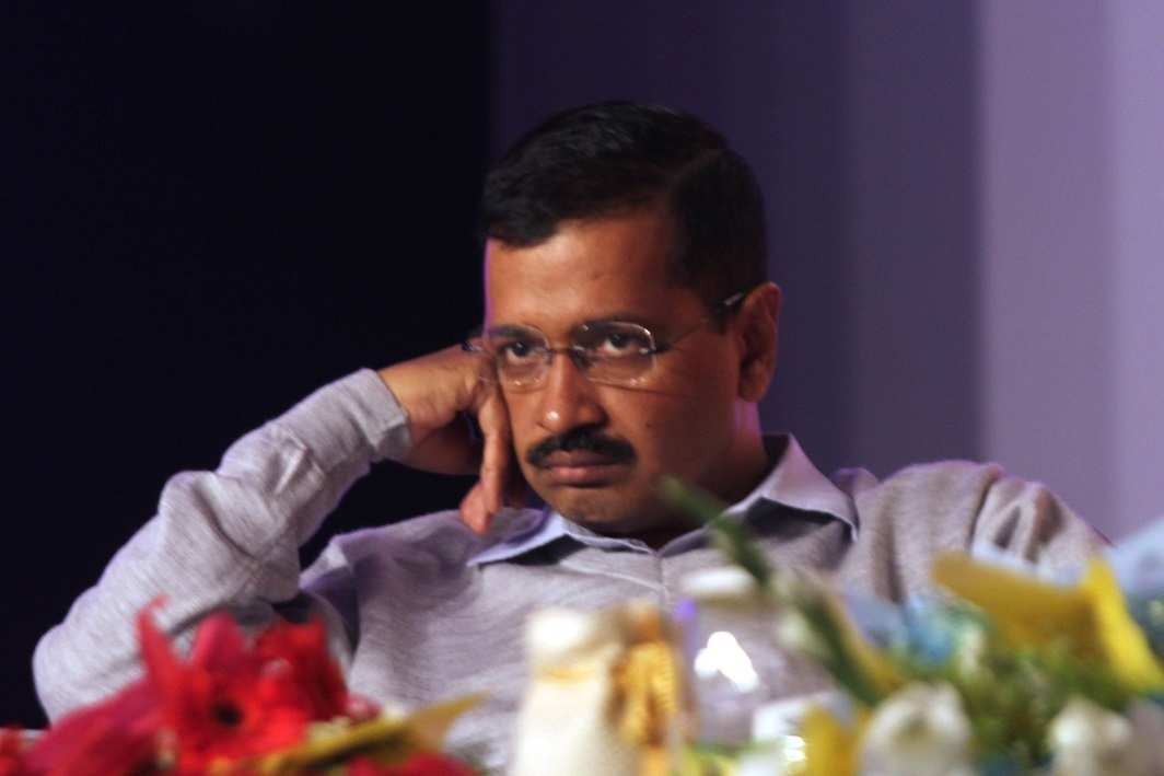Delhi CM Arvind Kejriwal, whose case Jethmalani is arguing in the Delhi High Court