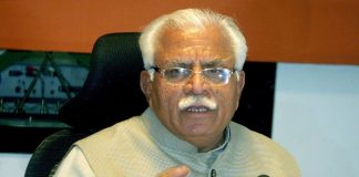 Haryana Chief Minister Manohar Lal Khattar. Photo: UNI