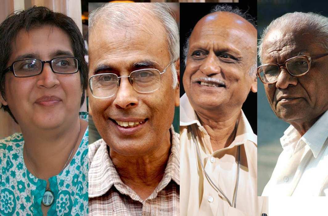 (L-R) Sabeen Mahmud, Narendra Dabholkar, MM Kalburgi and Govind Pansare
