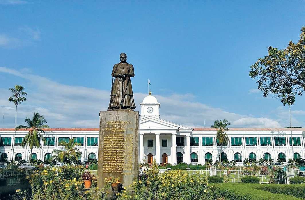 The Kerala government secretariat in Thiruvananthapuram. Wikimedia/Syed Shiyaz Mirza