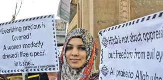 Use of the hijab has come under attack in western countries because of its identification with Islam. Photo: UNI