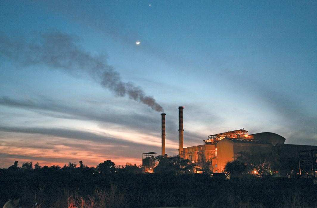 The Okhla Timarpur Waste to Energy plant, managed by Jindal Urban Infrastructure Limited. Photo: Anil Shakya