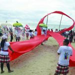Campaign to mark World Aids Day in Bali. Photo: UNI