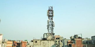 Many localities have cell phone towers but are they safe? Photo: Anil Shakya
