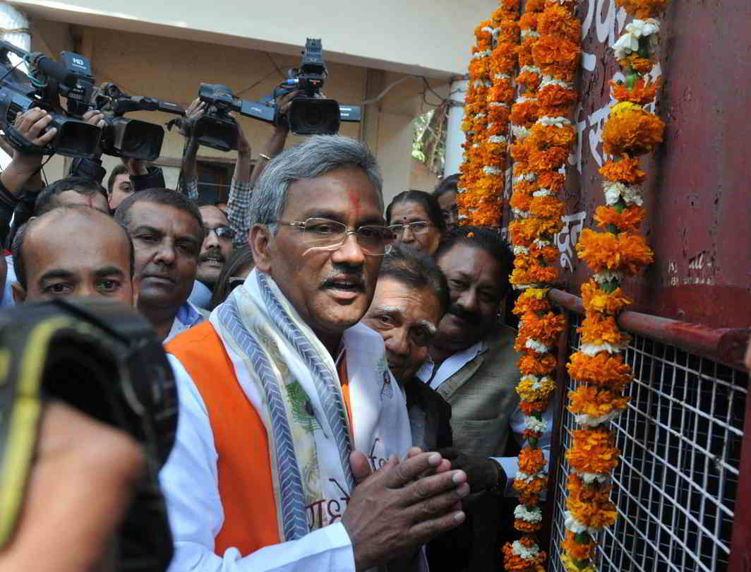 The newly-elected BJP government in Uttarakhand headed by Trivendra Rawat will have little option but to abide by the deadlines set by the court. Photo: UNI