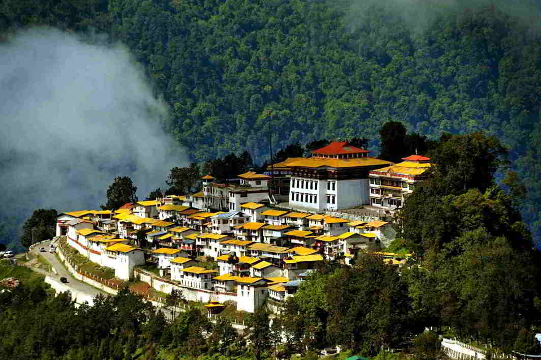 Tawang Monastery in Arunachal Pradesh. Photo: famousplacesinindia.in