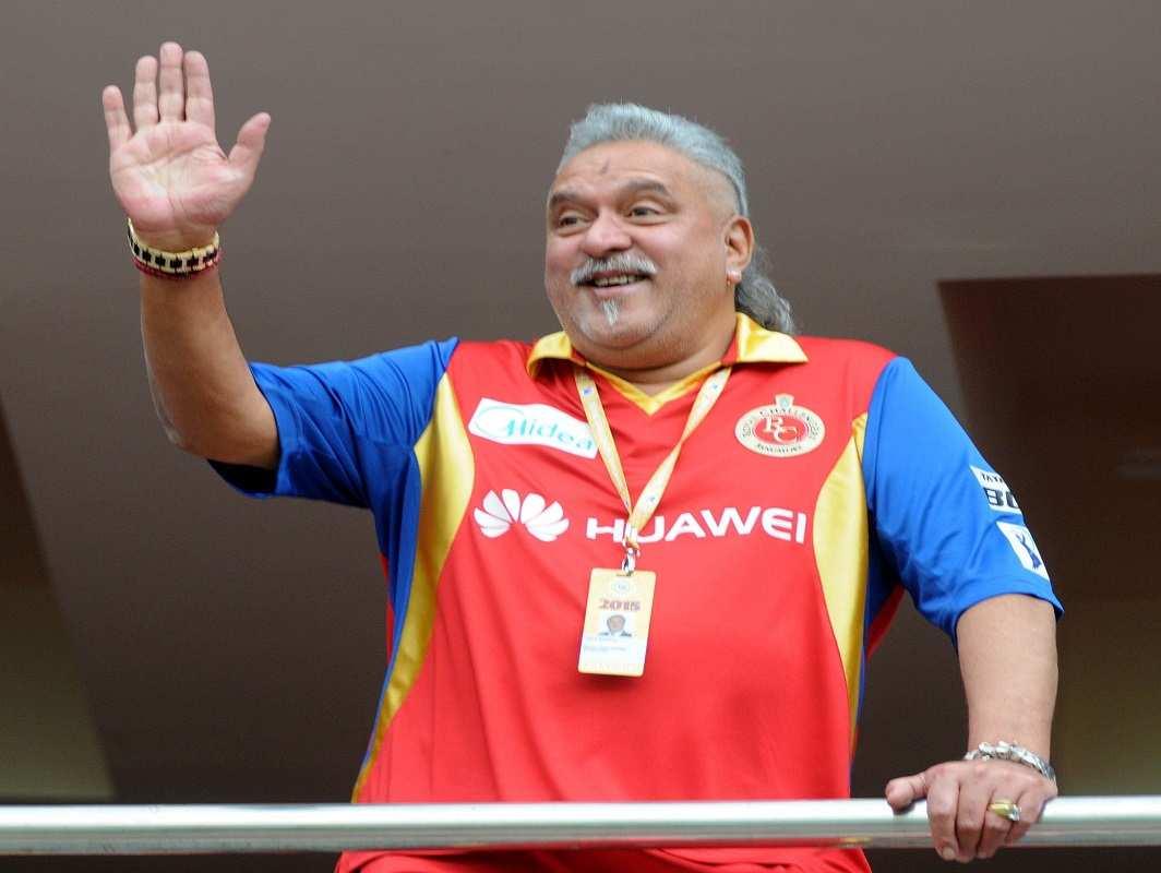 Picture: Vijay Mallya. UNI