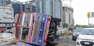 Highway accidents are rampant and drunken driving is a major cause of it. Photo: UNI