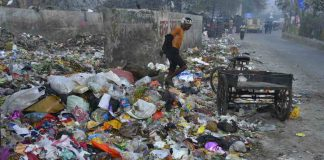 A garbage dump in New Delhi. Photo: Anil Shakya