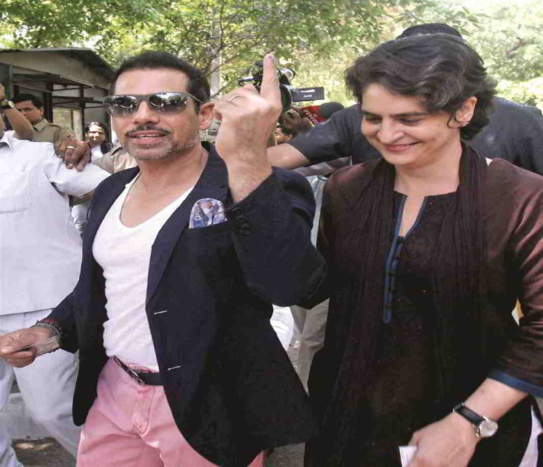 Priyanka Gandhi says funds for her land deals have no connection with Robert Vadra