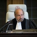 Judge Ronny Abraham, President of the Court. Photo: UN Photo/ICJ-CIJ/Frank van Beek