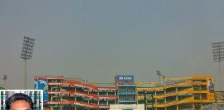 An inside view of Ferozshah Kotla stadium managed by DDCA. Photo: wikipedia; (inset) Justice Vikramajit Sen