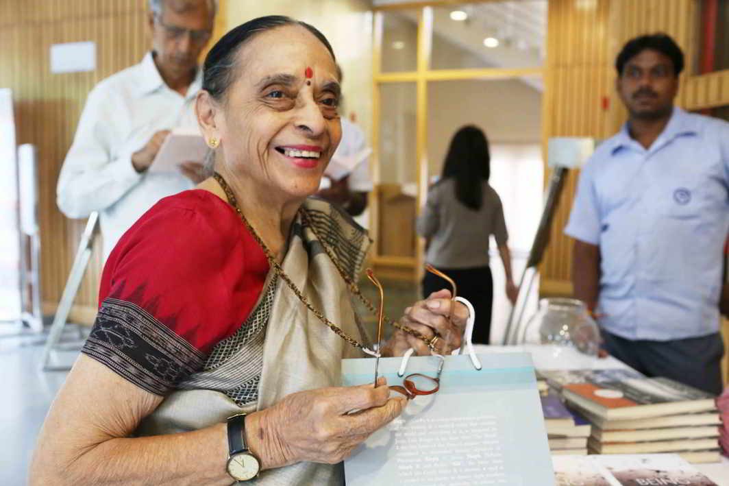 signing a letter justice leila seth passes away india 24855