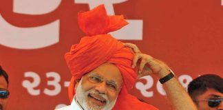 Narendra Modi constructed a simulacra of a new India, which people believed in. Photo: UNI