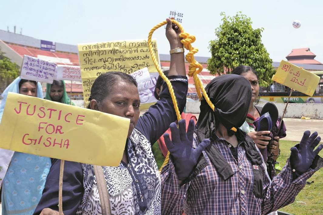 In the Jisha murder case, the government failed to prove that Senkumar had intervened in the investigation. Photo: UNI