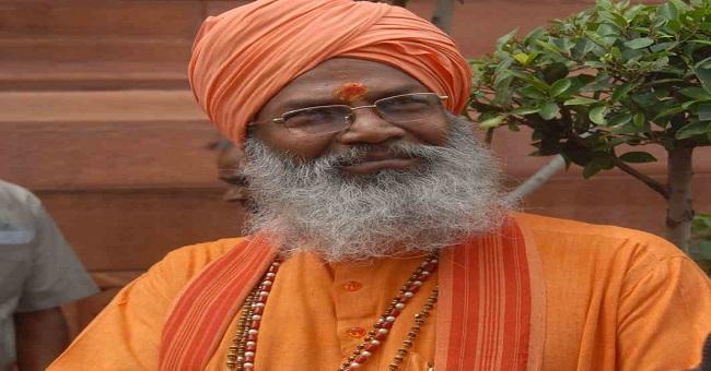 Sakshi Maharaj; Photo: UNI