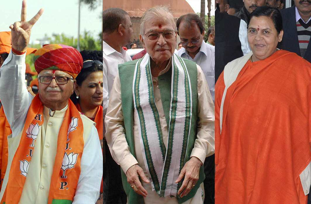 Advani, Joshi, Uma need not appear in CBI court in person