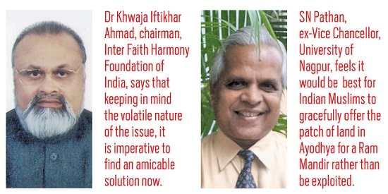 (L-R) Dr Khwaja Iftikhar. SN Pathan