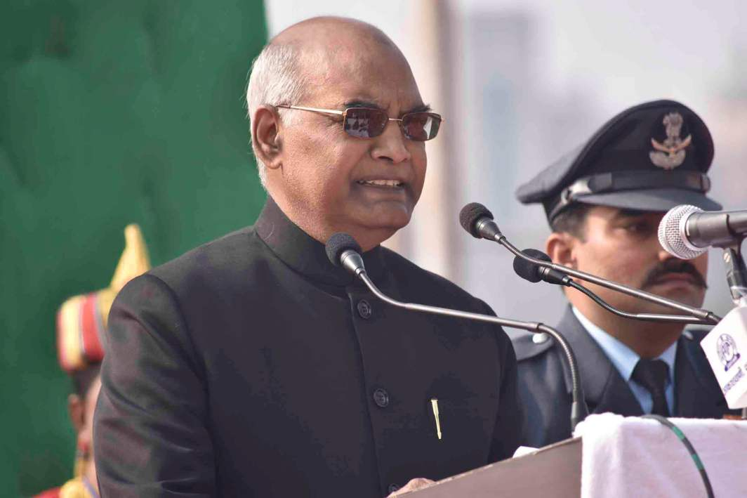 Bihar governor Ram Nath Kovind. Photo: UNI