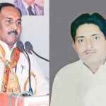 Congress MLA Makhan Lal Jatav (right) was killed on April 13, 2009 and MP minister Lal Singh Arya was accused in the case