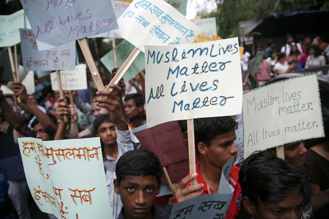 Not In My Name protest meet draws first Modi comment against killings