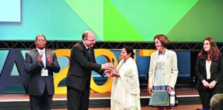Mamata Banerjee gets top UN award for her Kanyashree project