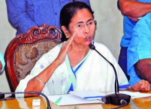 Chief Minister Mamata Banerjee had called for peace in the hills. Photo: UNI
