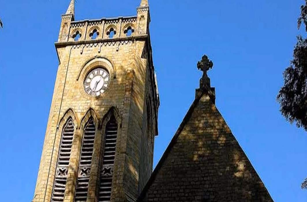 An outside view of a church in Kasauli. Photo: YouTube