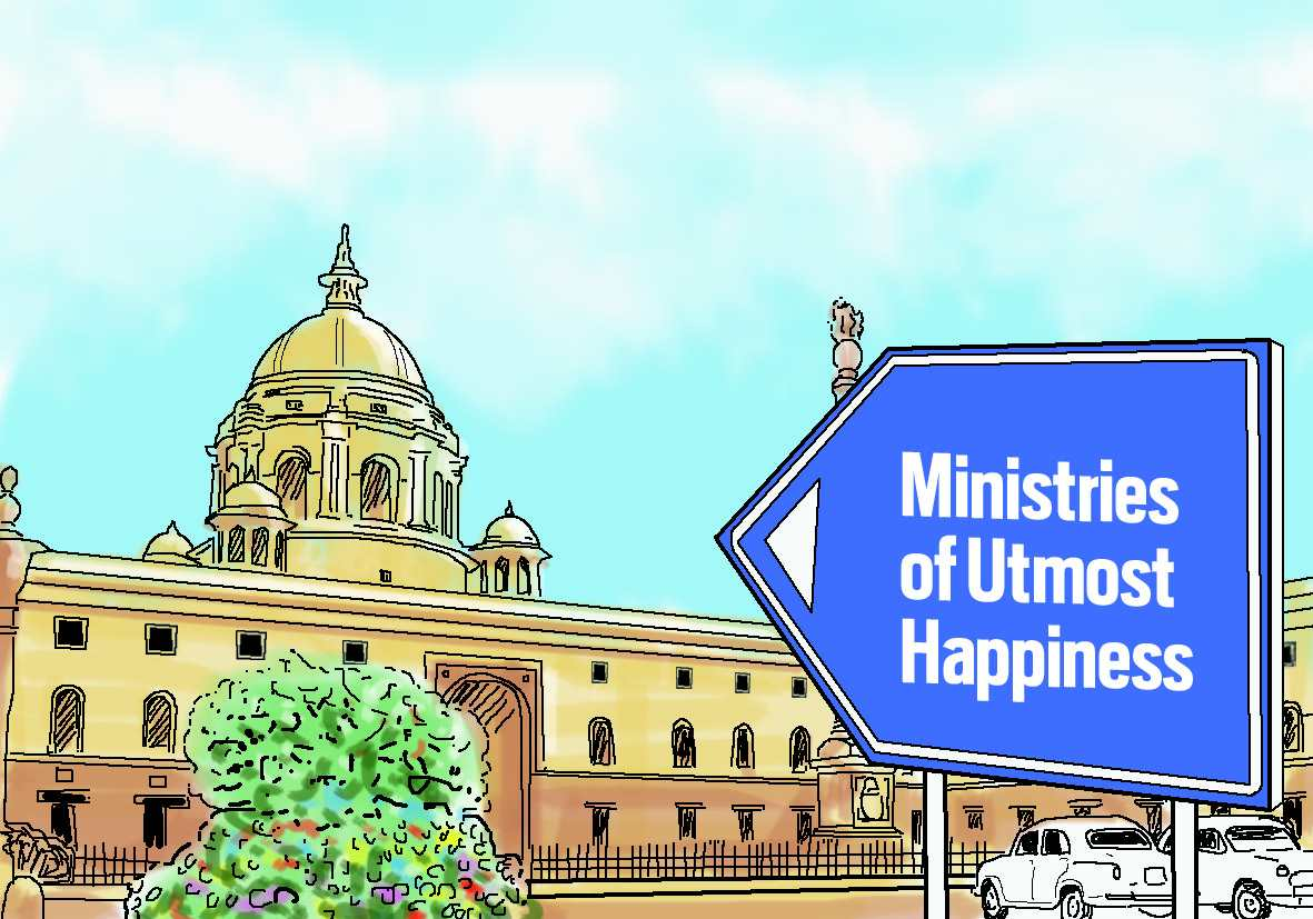 Ministries of Utmost Happiness - India Legal
