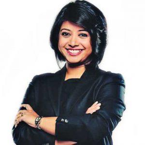 Faye D'Souza, executive editor, Mirror Now