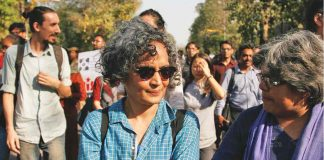 SC stays criminal contempt proceedings against Arundhati Roy