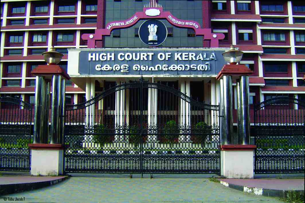 A Palakkad woman, Badrunissa, changed the contents of a Kerala High Court order in a property dispute