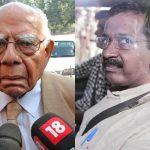 "Jethmalani says he got the ""crook"" hint from Kejriwal"