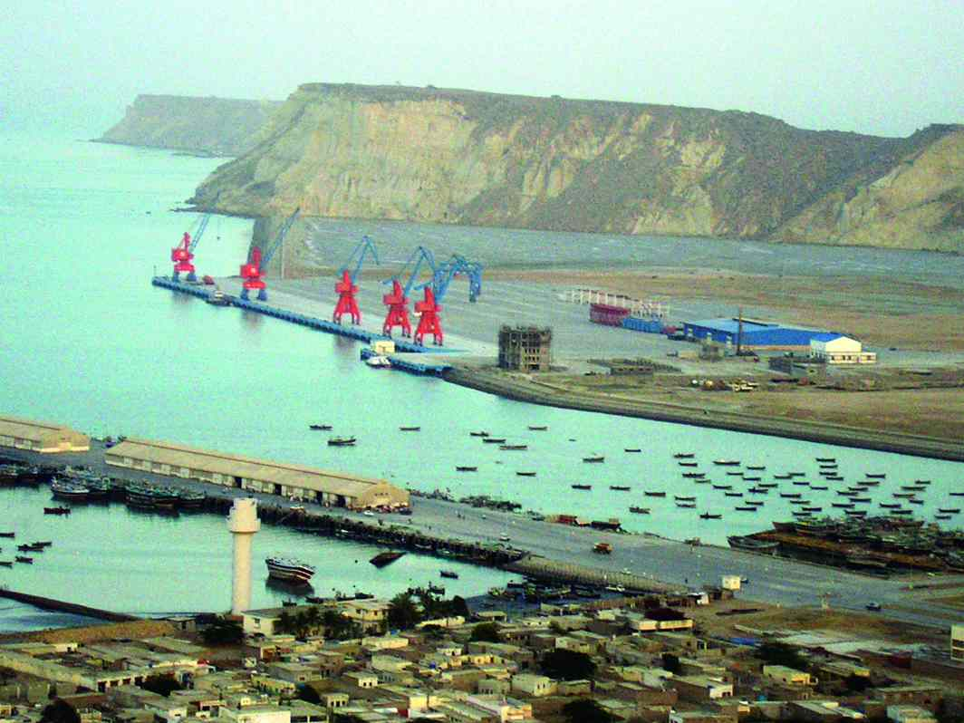 Gwadar Port in Sindh is vital for the success of China's plans in the region