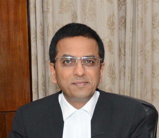 Hon'ble Dr. Justice Dhananjaya Yashwant Chandrachud