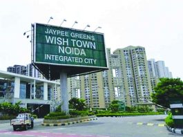 Jaypee Wish Town remains a dream for thousands who invested in it. Photo: Twitter