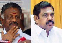 Palaniswami and Panneerselvam