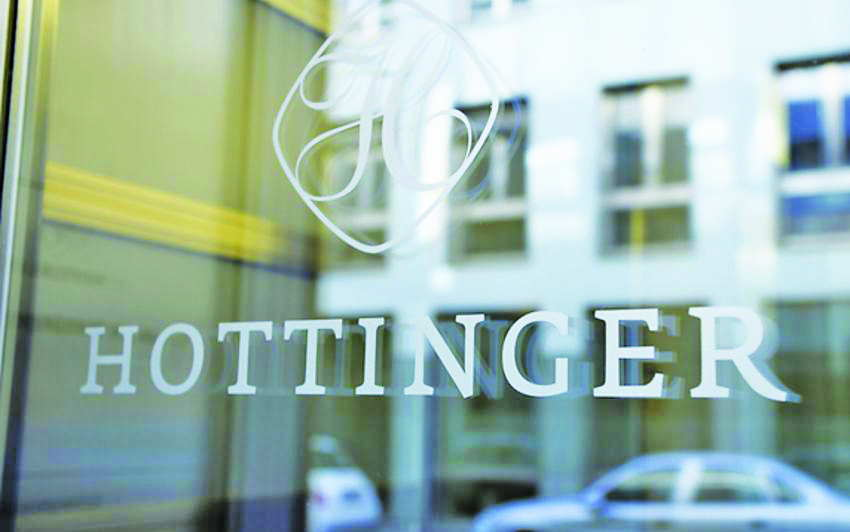 Hottinger and Cie, a centuries-old high-profile Swiss bank that was forced to file for bankruptcy