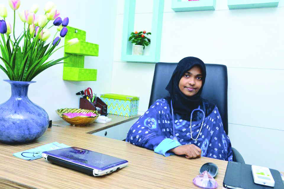 Akhila, a homeopathy student before she converted to Islam and married Jahan