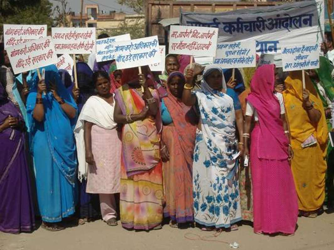 The Safai Karmachari Andolan has raised the banner of struggle to ensure manual scavengers their rights. Photo: SKA