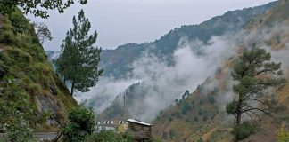 Kasauli in Himachal Pradesh