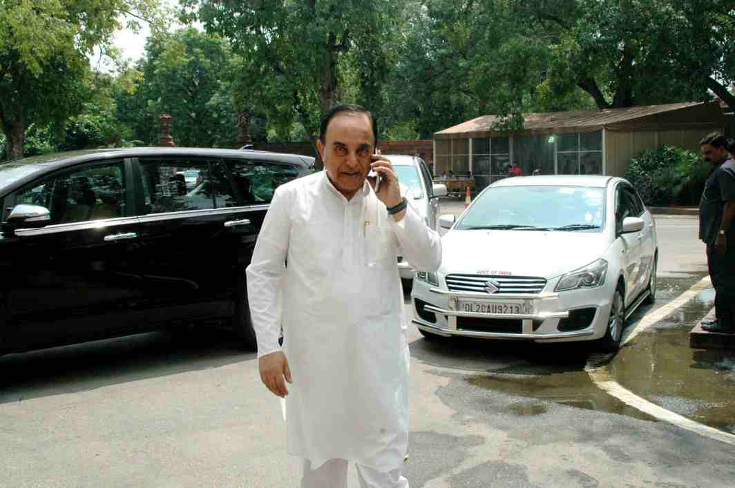 Swamy claims Sunanda Pushkar's son in the case because of property