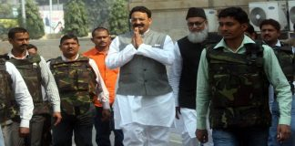 BSP MLA Mukhtar Ansari. Photo: UNI