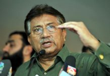 Musharraf also claimed that the assassination of Benazir Bhutto was carried out in collusion with a 'senior and important public figure in Afghanistan', who he refused to name. Photo: UNI