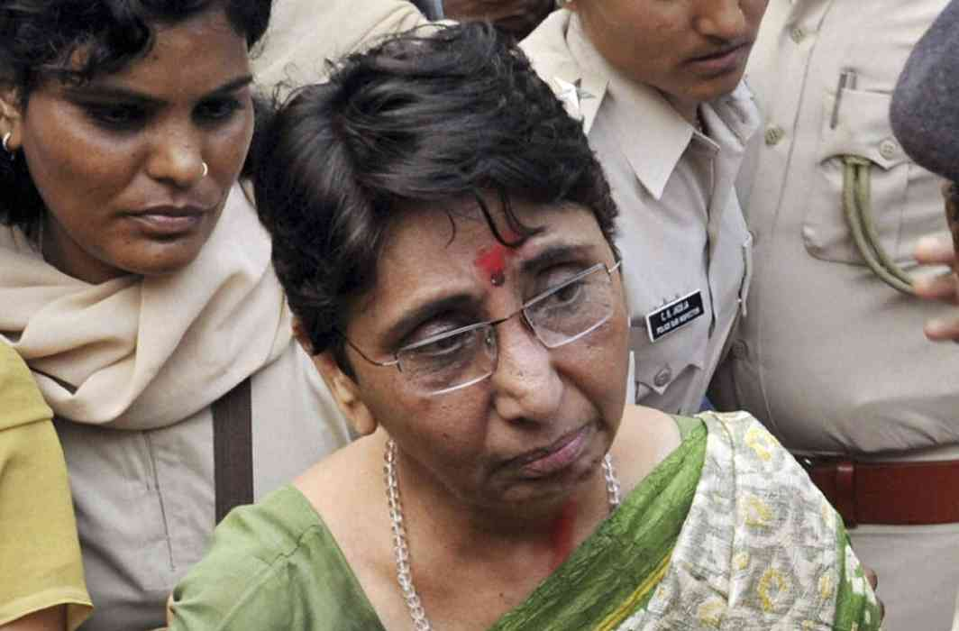 Former minister and BJP leader Maya Kodnani