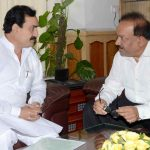 MP minister Narottam Mishra (left) was disqualified by the Election Commission on charges of paid news. Photo: UNI