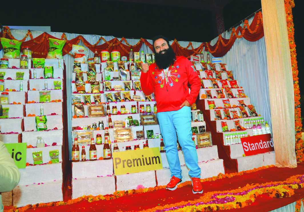 A product launch on the lines of Patanjali