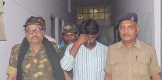 Rakesh Ranjan Yadav alias Rocky Yadav (centre) will be sentenced on September 6 in a road rage case. Photo: UNI