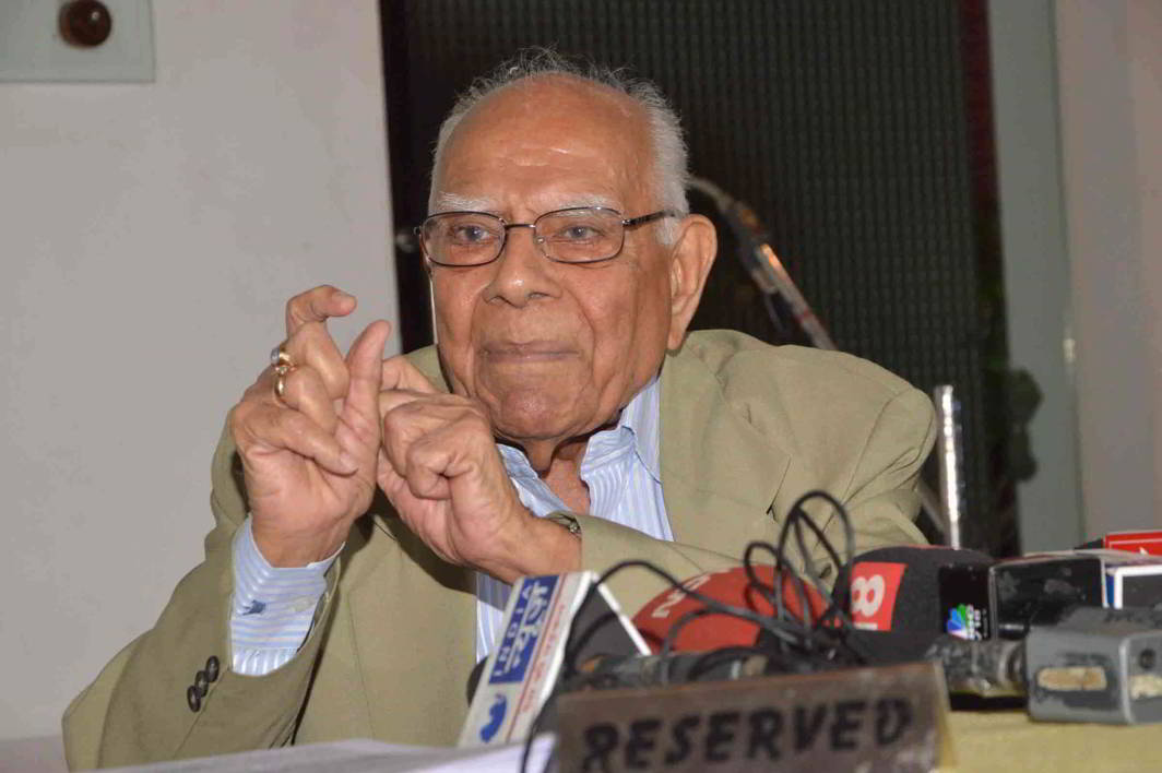 Eminent Jurist Ram Jethmalani has invested in LegitQuest and also serves as advisor to the company. Photo: UNI